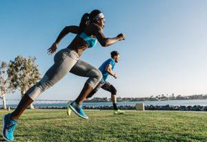 ריצה והשמנה תמונה פנימית